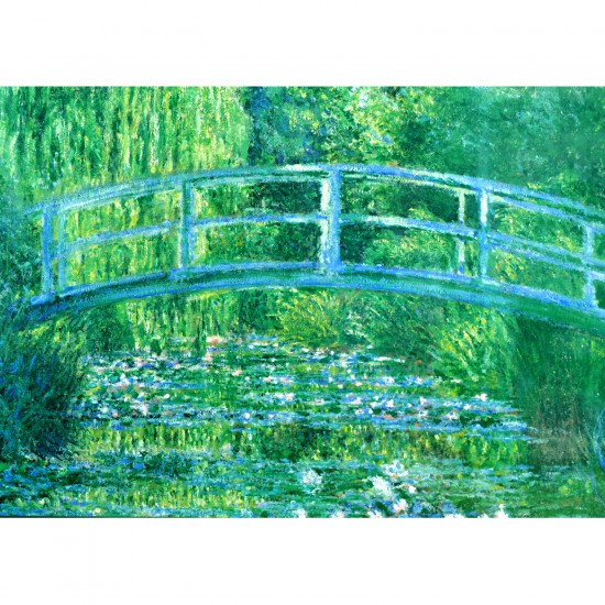 Puzzle 1000 pièces : Monet : Le bassin aux nymphéas - Clementoni-39266