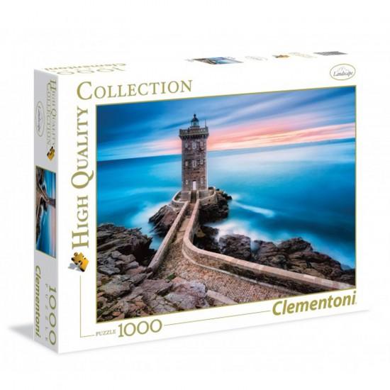 Puzzle 1000 pièces : Phare de Kermovan - Clementoni-39334