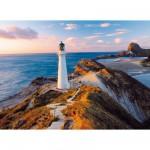 Puzzle 1000 pièces : Phare en Nouvelle Zélande