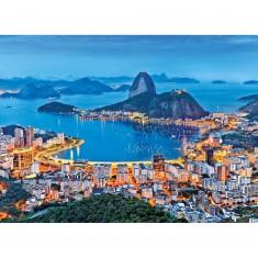 Puzzle 1000 pièces : Rio de Janeiro, Brésil
