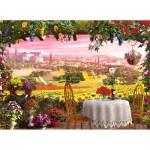 Puzzle 1000 pièces : Romantic Italy : Toscane