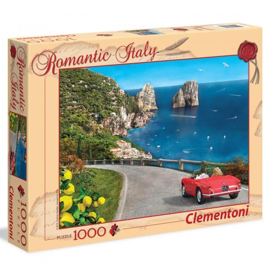 Puzzle 1000 pièces : Romantique Capri - Clementoni-39357