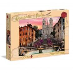 Puzzle 1000 pièces : Romantique Rome