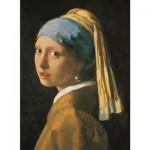 Puzzle 1000 pièces : Vermeer : La jeune fille à la perle