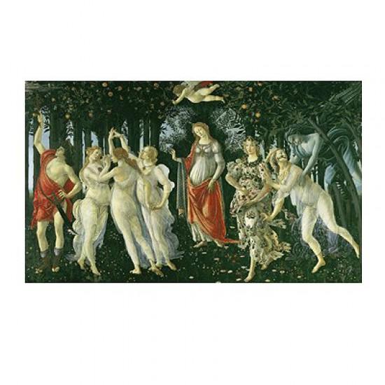 Puzzle 1000 pièces - Botticelli : La Primavera - Clementoni-31429