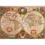 Puzzle 1000 pièces - Carte antique
