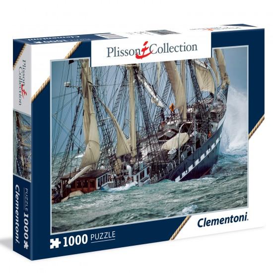Puzzle 1000 pièces collection Plisson : Belem - Clementoni-39350