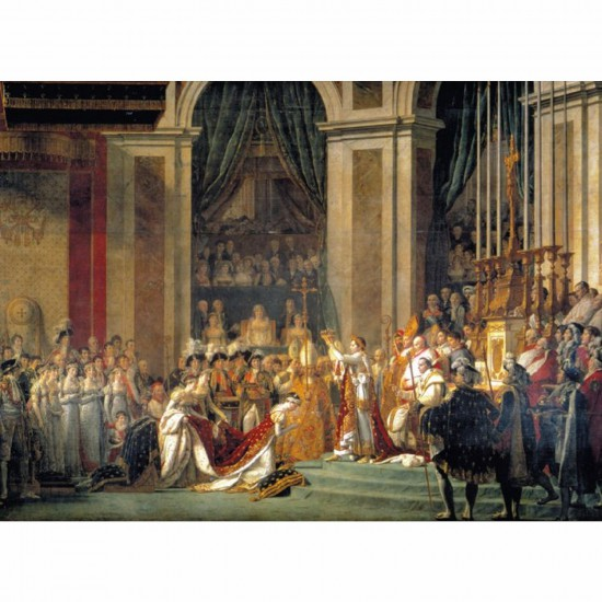 Puzzle 1000 pièces - David : Le Sacre de l'Empereur Napoléon 1er - Clementoni-31416