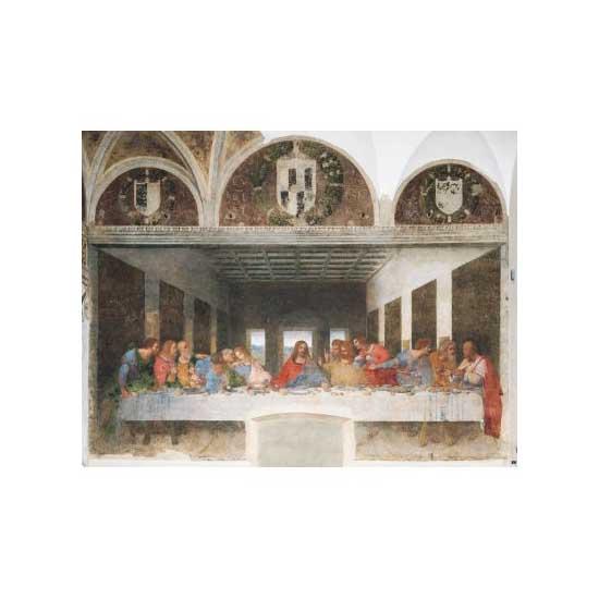 Puzzle 1000 pièces - Léonard de Vinci  :  La cène - Clementoni-31447