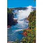 Puzzle 1000 pièces - Les chutes Iguazu, Brésil