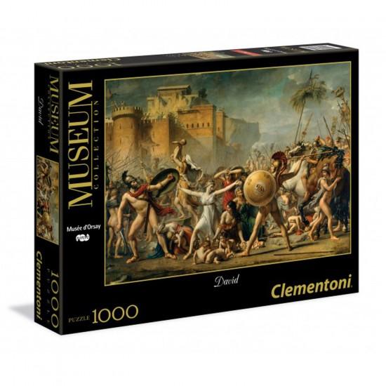 Puzzle 1000 pièces Museum : Les Sabines - Clementoni-39345