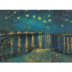 Puzzle 1000 pièces Museum : Nuit étoilée sur le Rhône Van Gogh