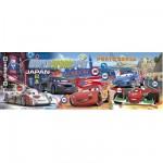 Puzzle 1000 pièces panoramique - Cars 2
