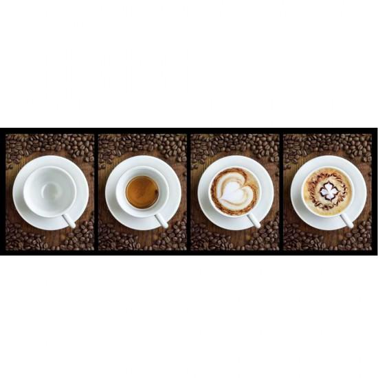 Puzzle 1000 pièces panoramique : Café - Clementoni-39275