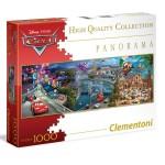 Puzzle 1000 pièces panoramique : Cars