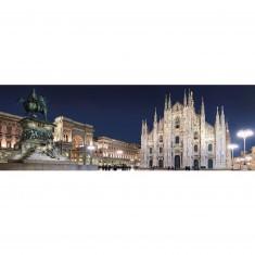 Puzzle 1000 pièces panoramique : Milan