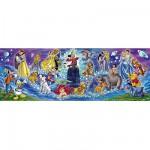 Puzzle 1000 pièces panoramique - Famille Disney