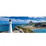 Puzzle 1000 pièces panoramique - Phare de la Nouvelle Zélande