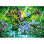 Puzzle 1000 pièces phosphorescent : L'arbre mère