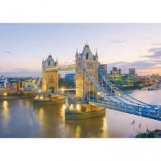 Puzzle 1000 pièces - Pont de Londres
