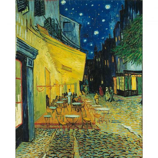 Puzzle 1000 pièces - Van Gogh : Le café, le soir - Clementoni-31470