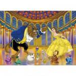 Puzzle 104 pièces - La Belle et la Bête : Ouverture du bal