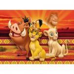 Puzzle 104 pièces - Le roi lion : Photo entre amis