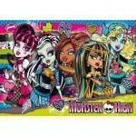Puzzle 104 pièces - Monster High : Entre filles