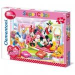Puzzle 104 pièces : I Love Minnie : Fabulous