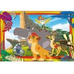 Puzzle 104 pièces : La Garde du Roi Lion