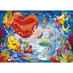 Puzzle 104 pièces : La petite sirène Dans le tourbillon