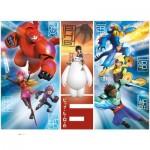Puzzle 104 pièces : Les Nouveaux Héros Big Hero 6