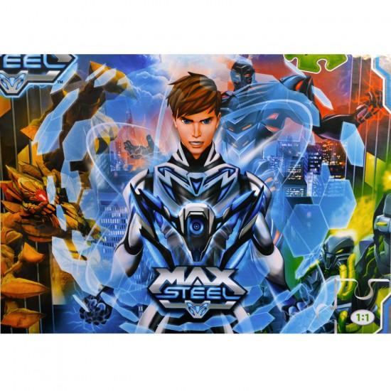 Puzzle 104 pièces : Max Steel : Max-imize ! - Clementoni-27895