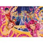 Puzzle 104 pièces : Mia et moi : Brilliant Puzzle