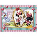 Puzzle 104 pièces : Minnie se fait une beauté