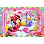 Puzzle 104 pièces : Minnie Shopping Bag Jewels
