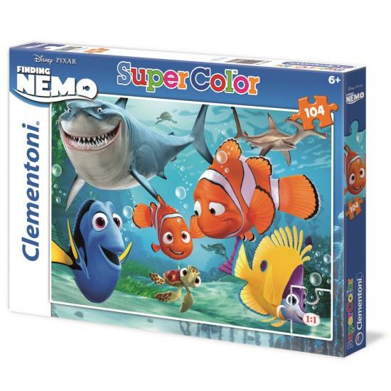 Puzzle 104 pièces : Nemo - Clementoni-27886