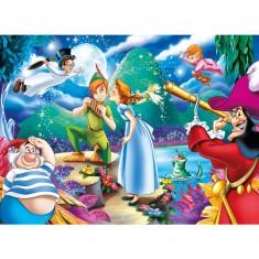 Puzzle 104 pièces : Peter Pan