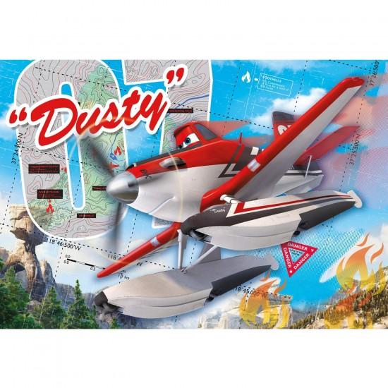 Puzzle 104 pièces : Planes 2 : Dusty - Clementoni-27911