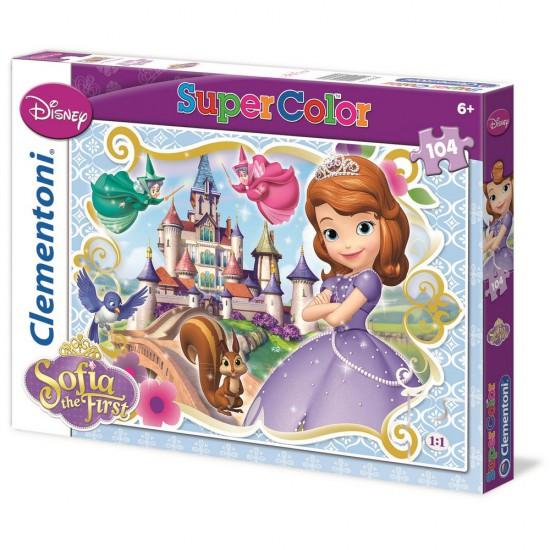 Puzzle 104 pièces : Princesse Sofia :  Prête à devenir princesse - Clementoni-27893