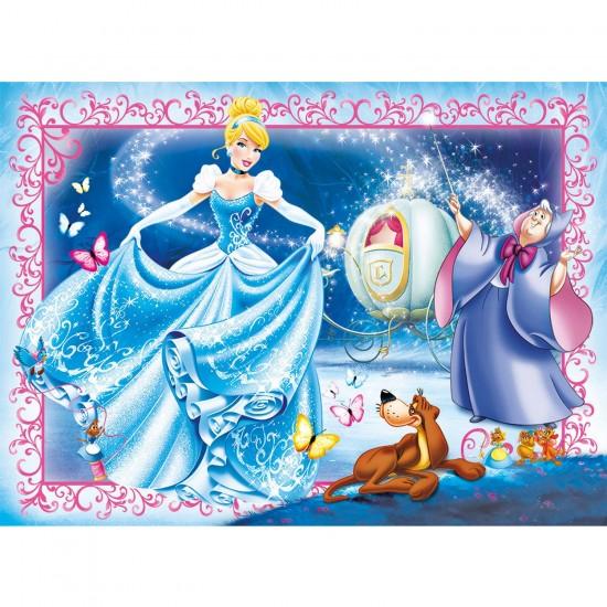 Puzzle 104 pièces : Princesses Disney : Cendrillon - Clementoni-27916