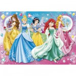 Puzzle 104 pièces : Princesses Disney