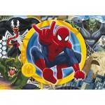 Puzzle 104 pièces : Ultimate Spiderman Se battre jusqu'au bout