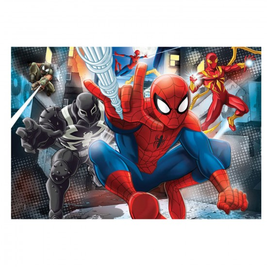Puzzle 104 pièces : Ultimate Spiderman - Clementoni-27958