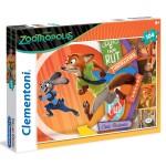 Puzzle 104 pièces : Zootopie