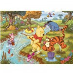 Puzzle 104 pièces maxi - Winnie l'ourson