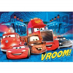 Puzzle 104 pièces maxi : Cars