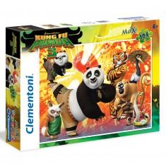 Puzzle 104 pièces Maxi : Kung Fu Panda 3
