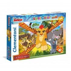 Puzzle 104 pièces Maxi : La Garde du Roi Lion