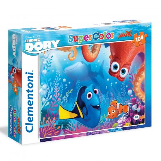 Puzzle 104 pièces Maxi : Le Monde de Dory - Clementoni-23976